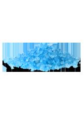 Pierres de Verre Turquoise 10mm(500g)