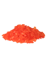 Pierres de verre Orange 10mm (500g)