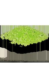 Perles de pluie Vert 2-4mm (60g)