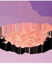Perles de pluie Rose 2-4mm (60g)