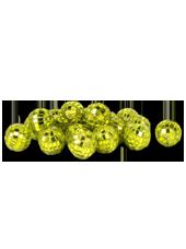 Boules Disco Vertes 20mm (90g)