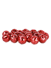 Boules Disco Rouges 20mm (90g)