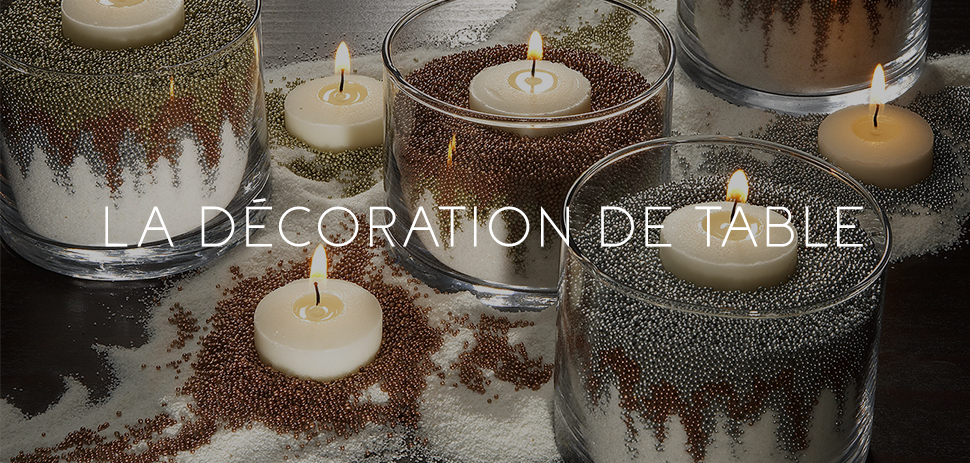 Bougie Décoration de Table