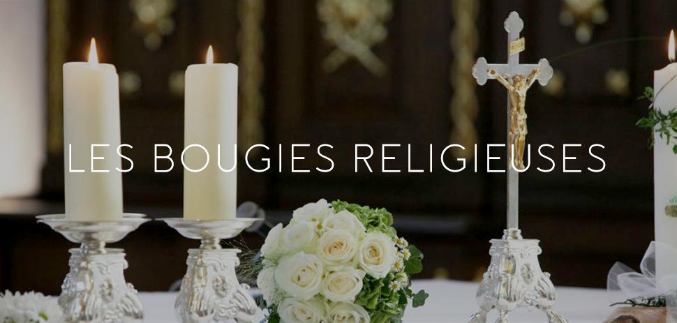 Bougie Neuvaines Cierges Religieux
