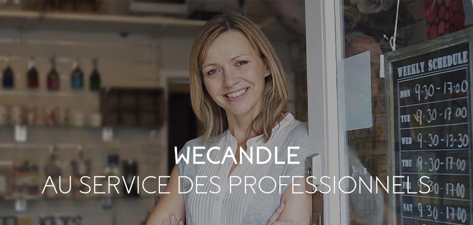 WeCandle, au service des professionnels