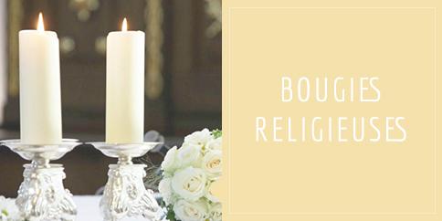 Bougies religieuses